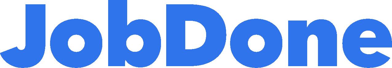 JobDone Logo - Blue